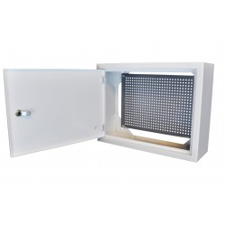 Obudowa metalowa TPR-UNI 400x300x130 blacha perforowana