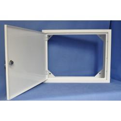 Obudowa metal. TPR (450x350x150) /kluczyk,b.plec./