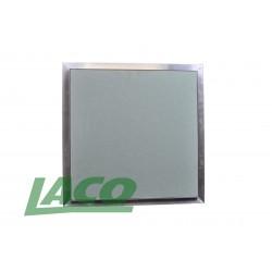 Klapa rewizyjna aluminiowa KR60P1 (600x600x12,5)